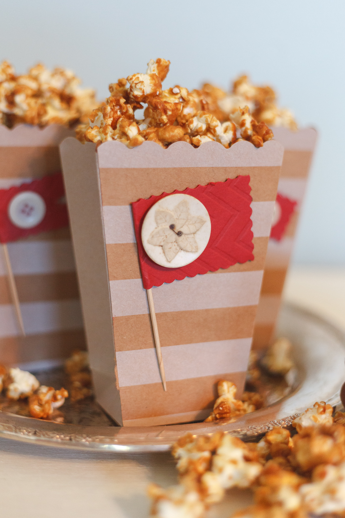Taffy Crunch Popcorn