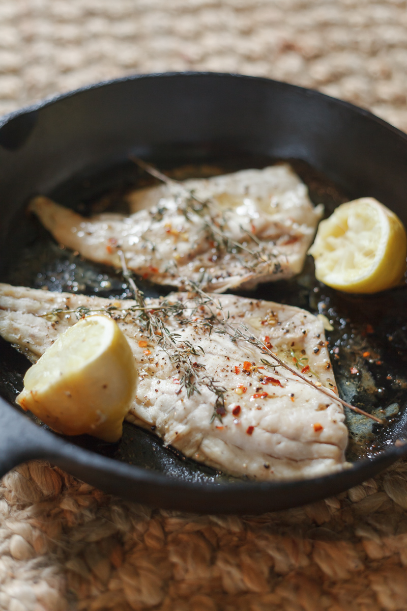 Oven Roasted Redfish