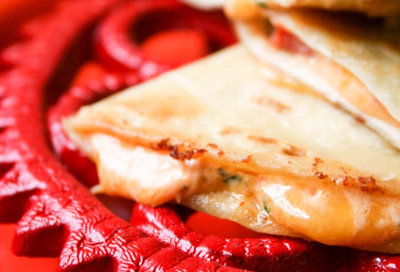 Poblano Cheese Quesadillas