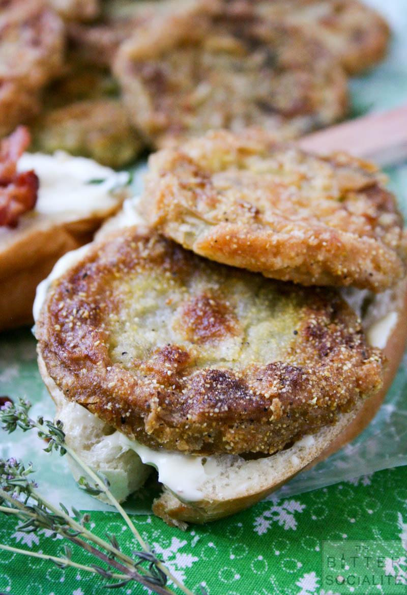 Fried Green Tomato Sandwich