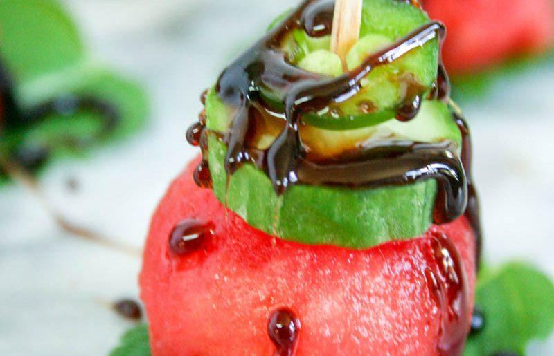 Cucumber-Mint Bites