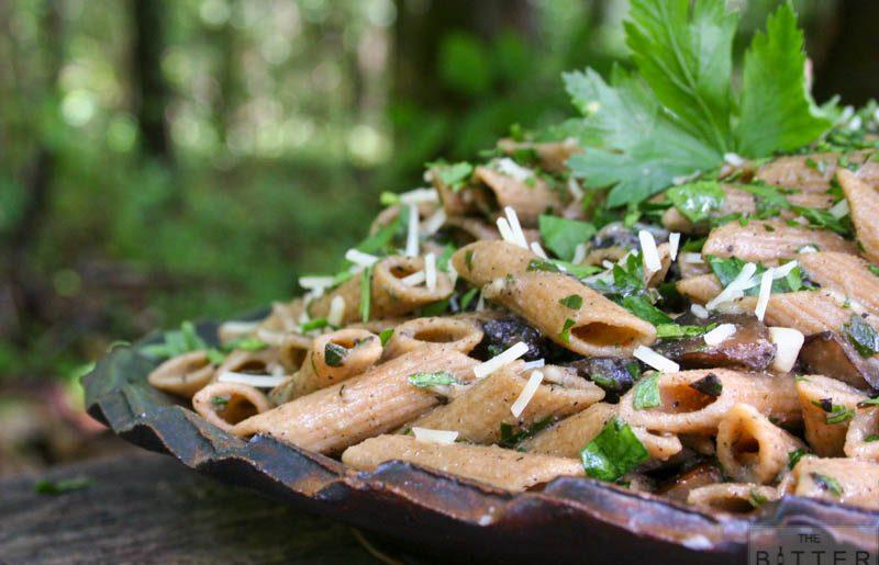 Roasted Wild Mushroom & Truffle Pasta