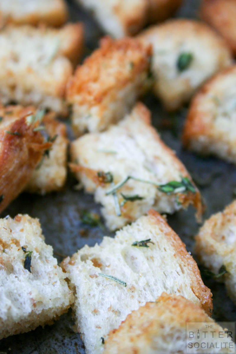 Garlic & Herb Croutons