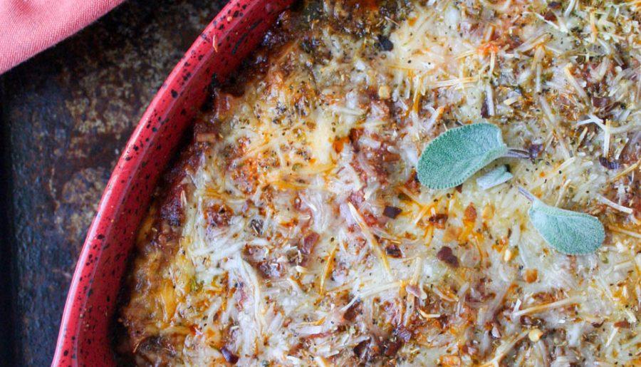 Loaded Pizza Roll Lasagna