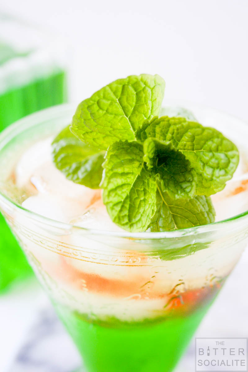 Midori & Rye Cocktail