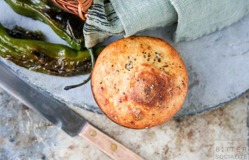Shishito Pepper Buttermilk Cornbread