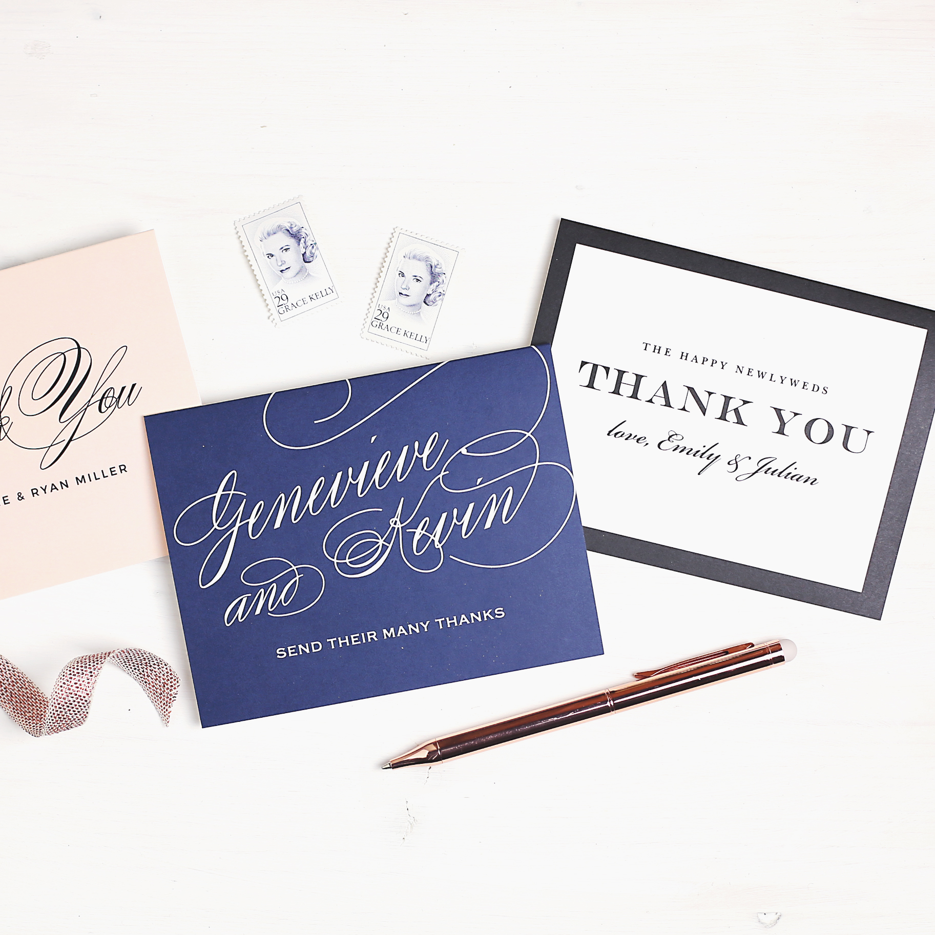 Well-liked Thankful for Thank You Notes from Basic Invite – The Bitter Socialite CJ44